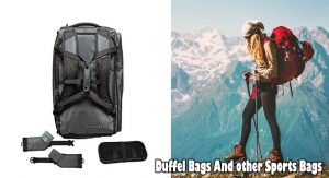 Duffel Bags And other Sports Bags: Deciding upon The fabric Which is Finest For you personally